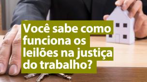 leilões na justiça de trabalho