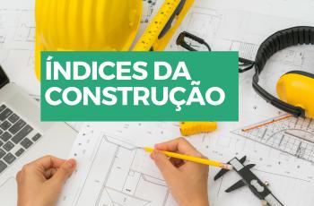 índices da construção civil